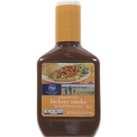 Kroger Kansas City Hickory Smoke BBQ Sauce Food Product Image
