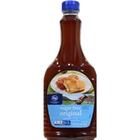 Kroger Sugar Free Original Pancake Syrup Food Product Image