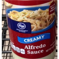 Kroger, Creamy Alfredo Sauce Food Product Image
