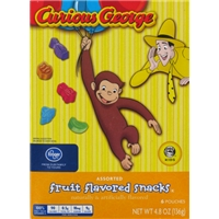 Kroger Curious George Fruit Snacks Food Product Image