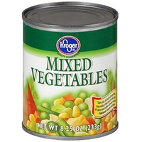 Kroger Mixed Vegetables Food Product Image