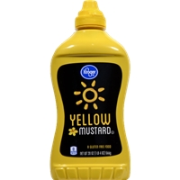 Kroger Yellow Mustard Food Product Image