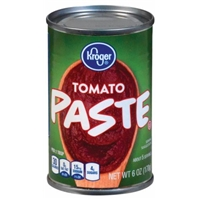 Kroger Tomato Paste Food Product Image