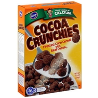 Kroger Cereal Cocoa Crunchies Food Product Image