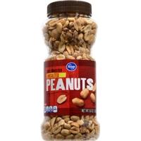 Kroger Dry Roasted Unsalted Peanuts Food Product Image