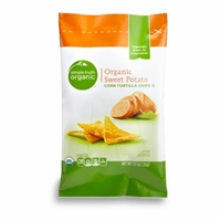 Simple Truth Organic Sweet Potato Tortilla Chips Food Product Image