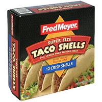 Fred Meyer Taco Shells Super Size, Crisp Food Product Image
