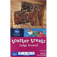 Kroger Frosted Toaster Treats - Fudge Frosted Food Product Image