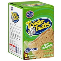 Kroger Unfrosted Apple Cinnamon Toaster Pastries Food Product Image