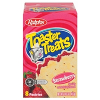 Ralphs Strawberry Toaster Treats Food Product Image