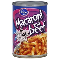 Kroger Macaroni And Beef Product Image