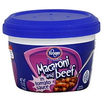 Kroger Macaroni And Beef In Tomato Sauce Product Image