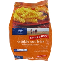 Kroger Extra Crispy Crinkle Cut Fries Food Product Image