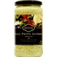 Private Selection Basil Pesto Alfredo Cream Sauce Food Product Image