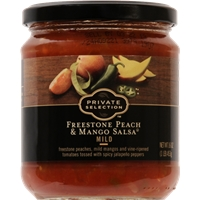 Private Selection Freestone Peach & Mango Salsa - Mild Food Product Image