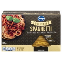 Kroger Pot Ready Spaghetti Pasta Food Product Image
