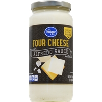 Kroger Four Cheese Alfredo Sauce Product Image