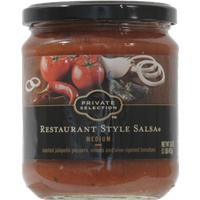 Private Selection Restaurant Style Salsa - Medium Food Product Image