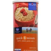 Kroger Quick 1-Minute 100% Whole Grain Oats Food Product Image