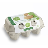 Simple Truth Organic Cage Free Large Brown Eggs Grade AA Food Product Image
