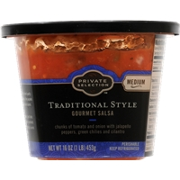 Private Selection Traditional Style Gourmet Salsa - Medium Food Product Image