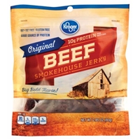 Kroger Beef Steakhouse Jerky - Original Product Image