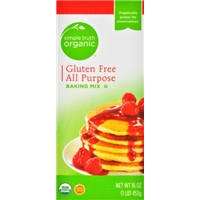 Simple Truth Organic Gluten Free All Purpose Pancake Mix Food Product Image