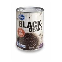 Kroger Black Beans - No Salt Added Food Product Image