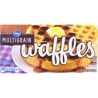 Kroger Multigrain Waffles Food Product Image