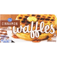 Kroger Cinnamon Waffles Food Product Image