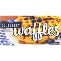 Kroger Blueberry Waffles Food Product Image