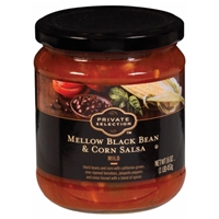 Private Selection Mellow Black Bean & Corn Salsa - Mild Food Product Image