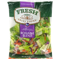 Fresh Selections Romaine Blend Salad Food Product Image