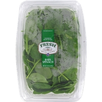 Fresh Selections Baby Spinach Food Product Image