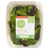Simple Truth Organic 50/50 Blend Lettuce Food Product Image