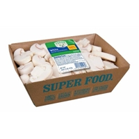 Mushrooms - White Sliced - Fresh Selections Food Product Image
