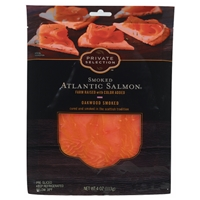 Private Selection Smoked Atlantic Salmon - Oakwood Smoked Food Product Image