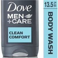 Dove Men + Care Body And Face Wash Clean Comfort Mild Formula Food Product Image