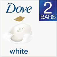 Dove White Bath Bar - 2 CT Food Product Image