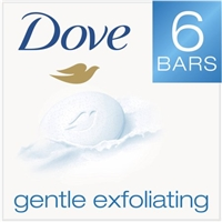 Dove Gentle Exfoliating Beauty Bar - 6 CT Food Product Image