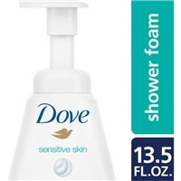 Dove Sensititve Skin Shower Foam Food Product Image