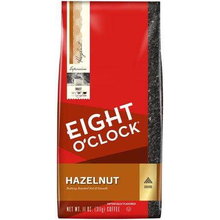 Eight O'Clock Hazelnut Ground Coffee Medium Roast Food Product Image