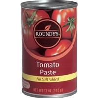 Roundy's Tomato Paste No Salt Added Food Product Image