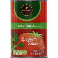 Roundy's Spaghetti Sauce - Traditional Food Product Image