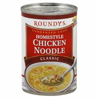 Roundy's Homestyle Chicken Noodle Soup Food Product Image
