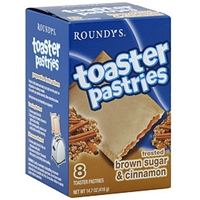 Roundy's Toaster Pastries Frosted Brown Sugar & Cinnamon Food Product Image