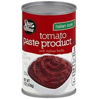 Shurfine Tomato Paste Product Italian Style Food Product Image