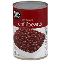 Shurfine Chili Beans Chili-Ets Food Product Image