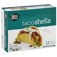 Shurfine Taco Shells Really Crunchy Food Product Image