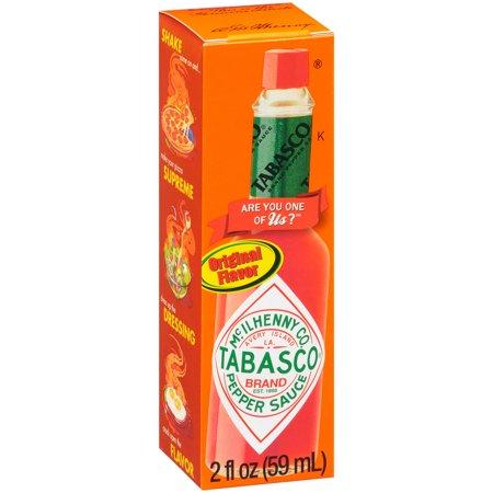 Tabasco Pepper Sauce Original Flavor Food Product Image